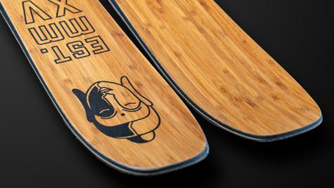 Custom SnoPlanks Skis