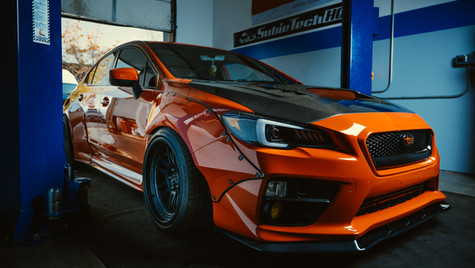 Custom Subaru WRX STI