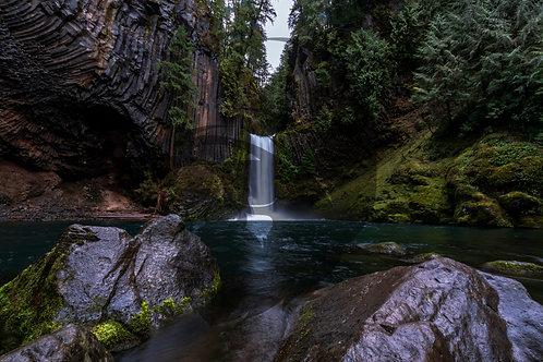 Moody Toktee Falls