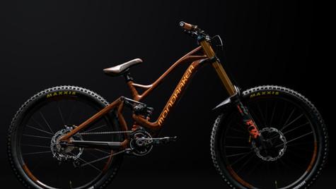 Custom Mondraker Downhill Bike