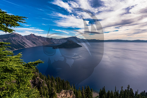 Wizard Island of Crater Lake