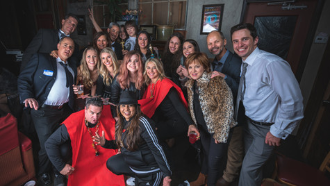 2018 Holiday Party Photo Booth