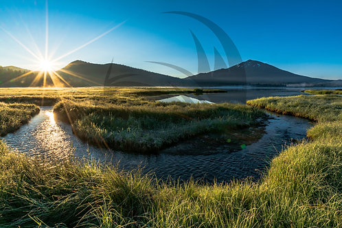 Good Morning Sparks Lake