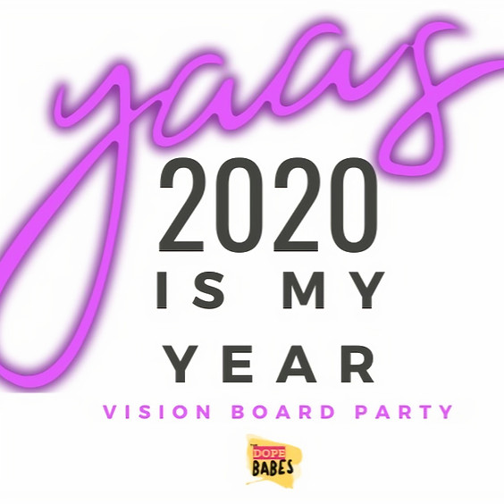 This is My Year Vision Board Party