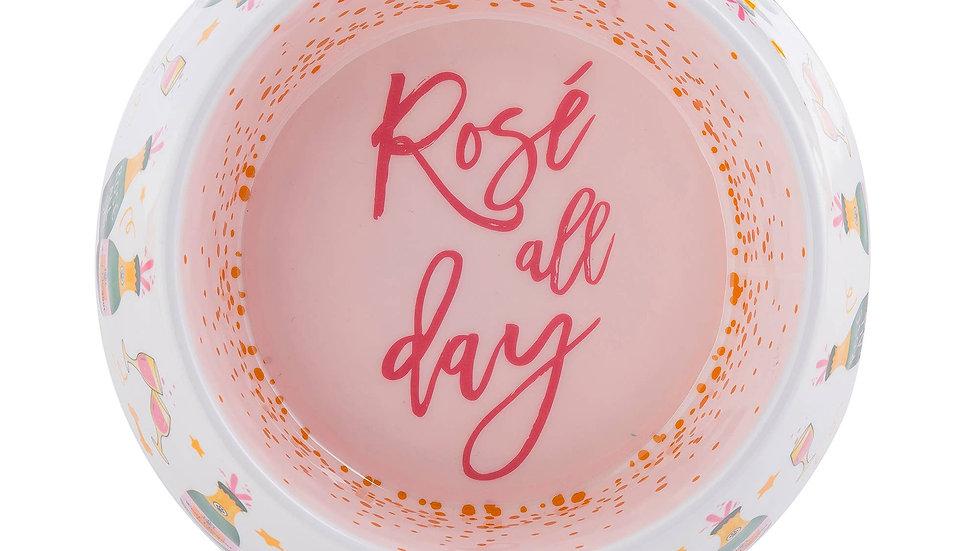Rose' All Day Dog Bowl