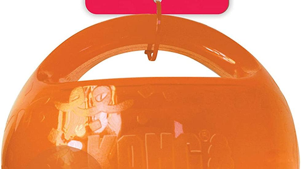 KONG Medium Jumbler Ball in Orange