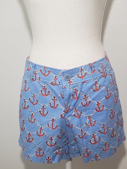 Lilly Pulitzer Blue Anchors Away Callahan Short with Pockets
