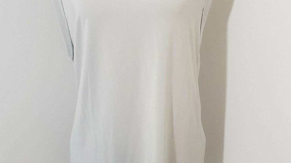 Fabletics Gray Training Day Sleeveless Tee Size Large