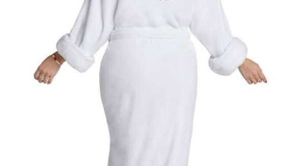 GUCCI IS MY LOVE LANGUAGE LUXE PLUSH ROBE