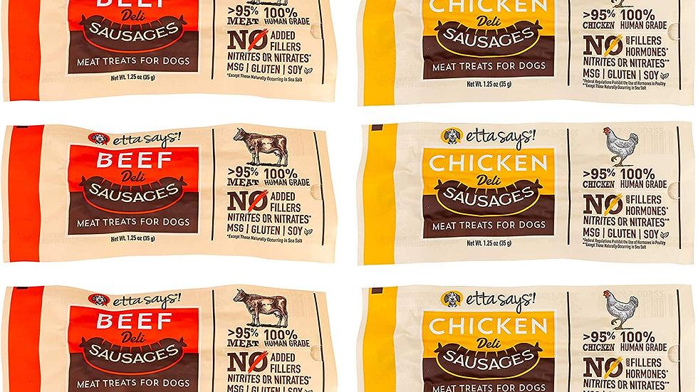 ETTA SAYS! Deli Sausage Link Meat Treats