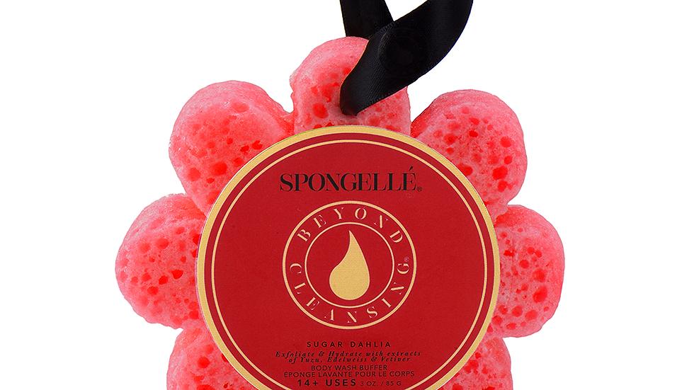 Spongelle  Sugar Dahlia  Wild Flower Body Wash Infused Buffer