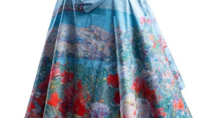 """Fine Art RainCaper - Shoals Hassam """"Celia's Garden"""""""