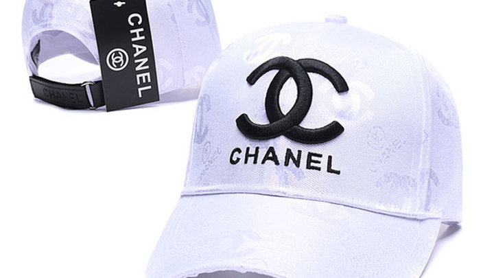 Chanel Logo Embroidered Baseball Cap / Hat