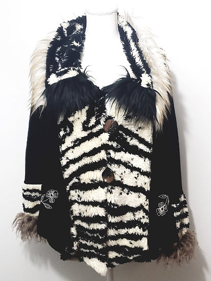 Lee Andersen Couture Inkwell Jacket Black / Cream