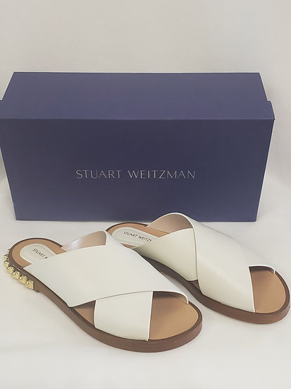 Stuart Weitzman Rockrose Off White Arizona Sandal