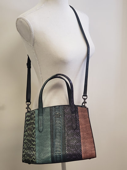 CHARLIE CARRYALL 28 IN OMBRE SNAKESKIN (COACH 51334)