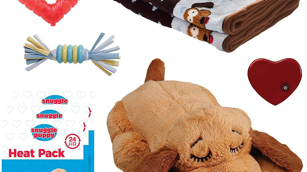 SmartPetLove Snuggle  Heartbeat  Toy - Pet Anxiety Relief & Calming
