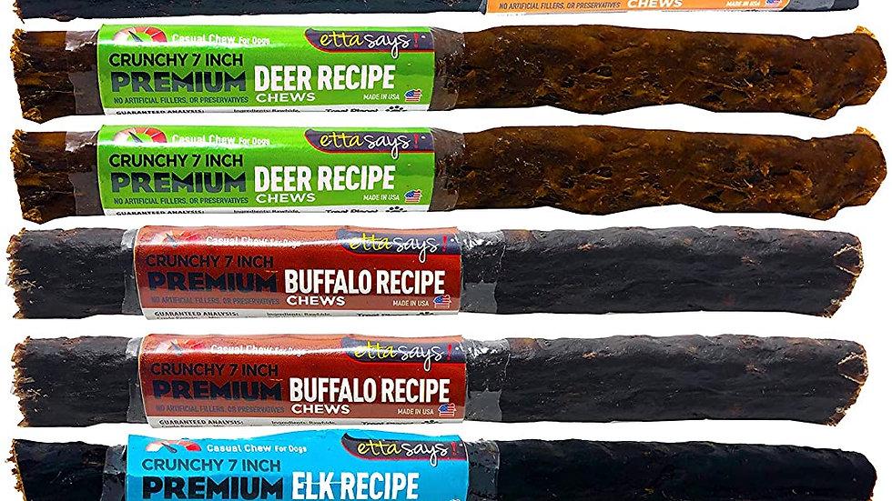 ETTA SAYS! Premium Crunchy Dog Chews Variety Pack