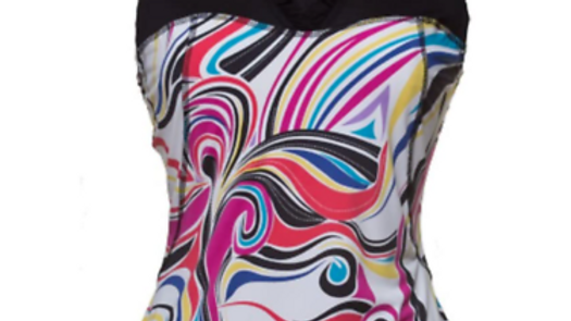 New With Tags Mana Energywear Sweetheart Golf Sports Active Wear Top Pucci