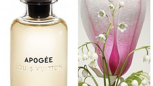 Louis Vuitton Yellow ' Apogee ' Miniature Perfume 0.3oz 10ml New