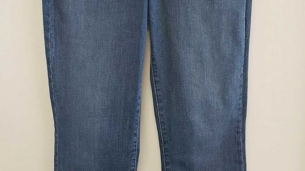 NYDJ Lift Tuck Technology Marilyn Straight Jeans Light Blue