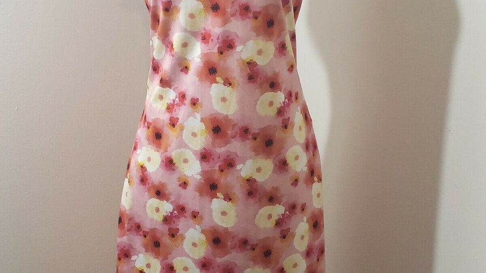 Daily Sports Golf Poppy Sleeveless Dress w/Mock Neck Pockets