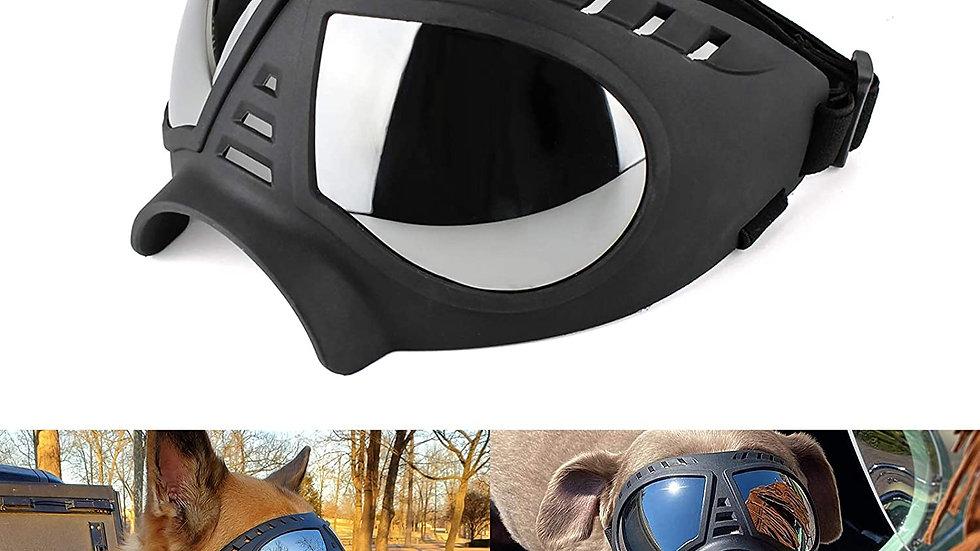 Dog Goggles/ UV Sunglasses /Windproof Snow-proof / Soft Frame/ Flexible Adjustab