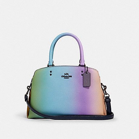 COACH MINI LILLIE CARRYALL WITH OMBRE (COACH 91055)
