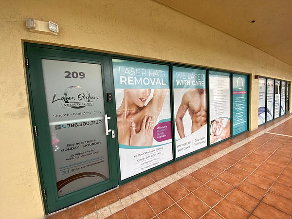 Welcome to The Laser Studio & Beauty Clinic in Doral, Florida - No more waxing