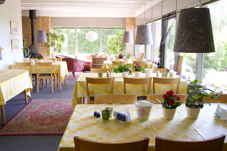 Spisesalen på Klintholm Bed & Breakfast