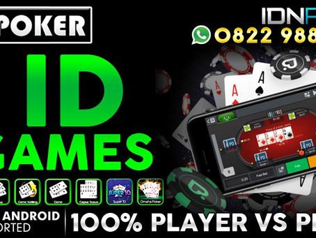 Agen IDN Poker Online Terpercaya Dengan Pelayanan 24Jam