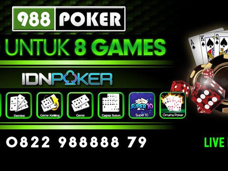Bermain IDN Poker Menggunakan Jaringan Seluler Di 988Poker