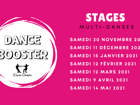 Stages Multi-Danses Dance Booster