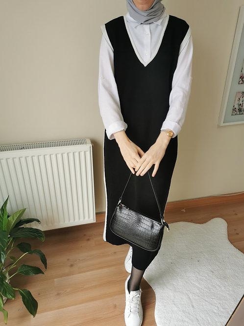 Ahsen Triko Jile Siyah Beyaz