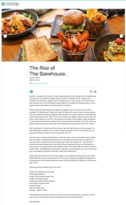 The Bakehouse Review