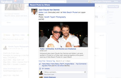 Jean-Claude Van Damme shares my Pic