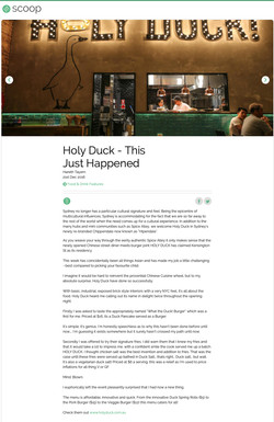 Holy Duck Review