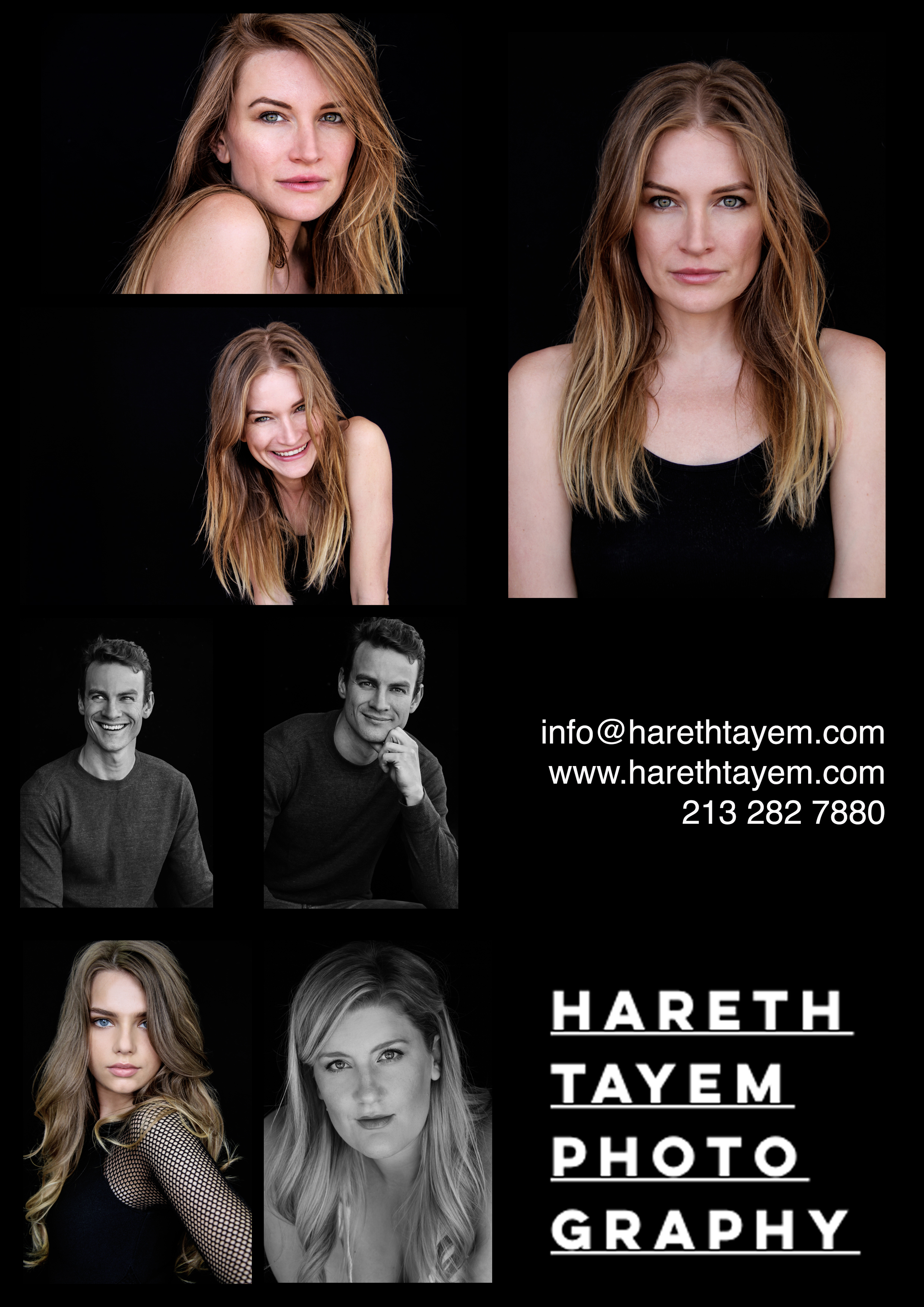Headshots Flyer HTP