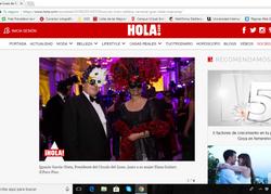 Máscara García Nieto. Hola digital.