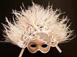 Máscara Blanca Lujo