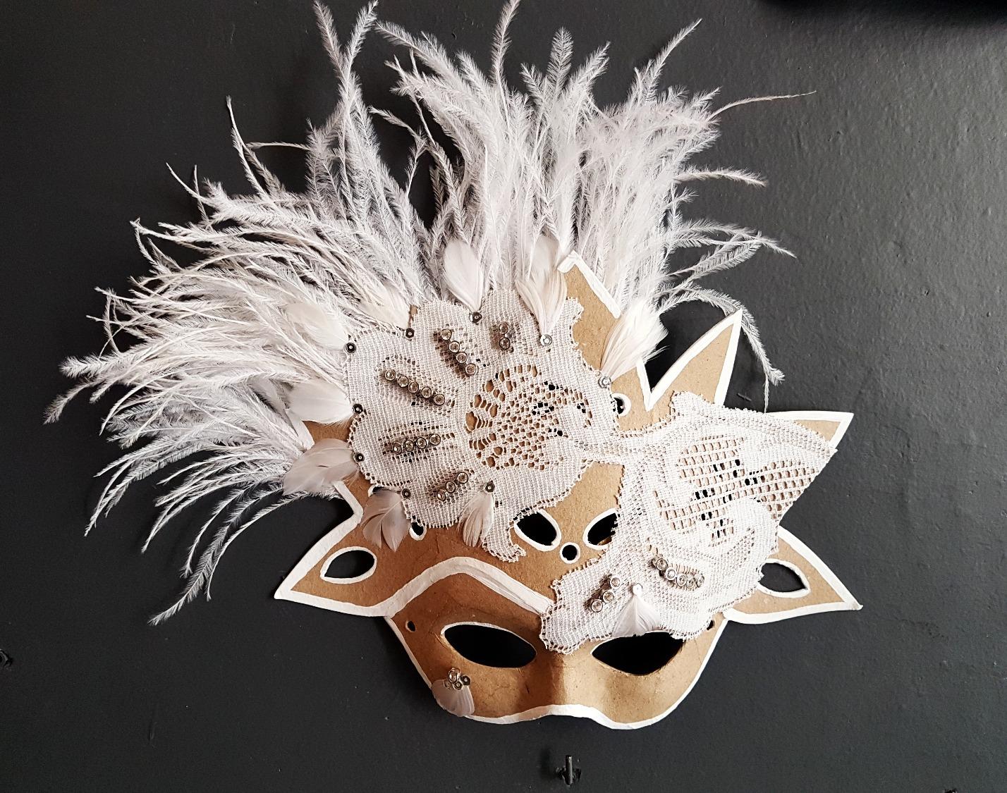 Máscara Blanca Estrella