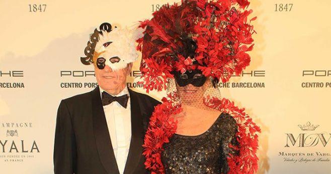 Ignacio García Nieto y esposa.