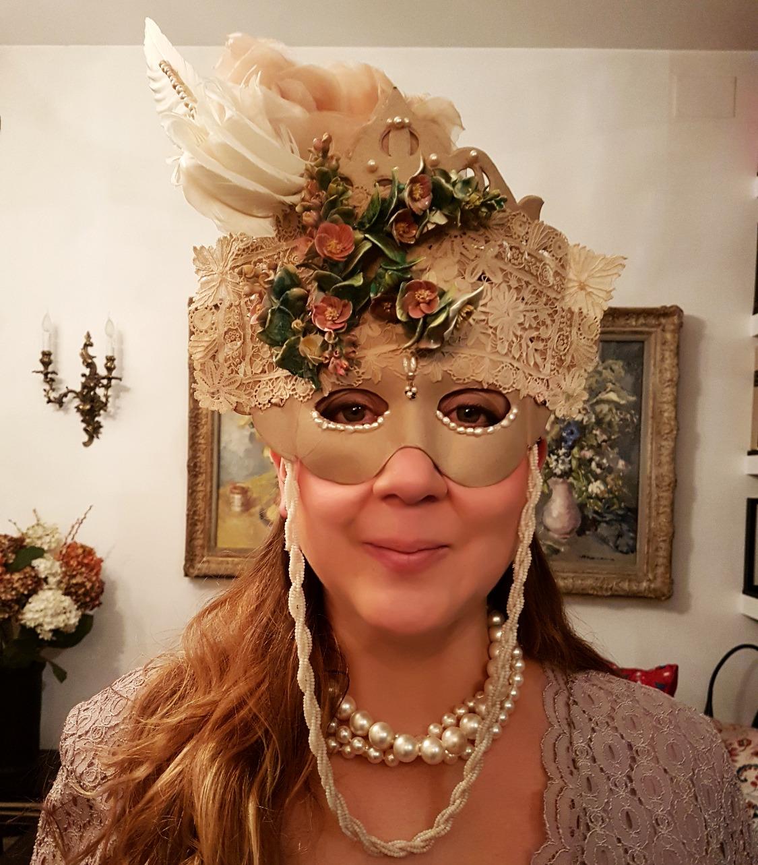 Máscara años 20.