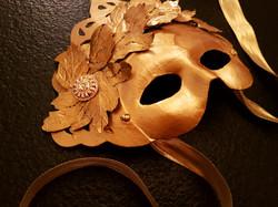 Máscara Romana Oro