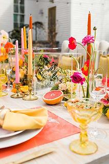 Wedding Theme for Summer Lemon Party Dec