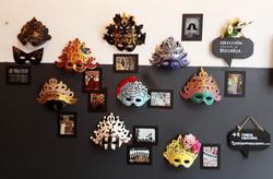 Muro Máscaras inspiración Bulgaria
