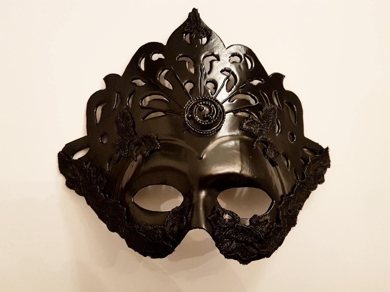 Máscara Negra caballero.