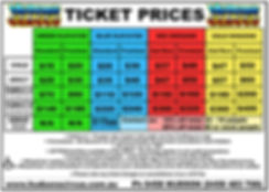 Hudsons Circus 2020 Ticket Prices low re