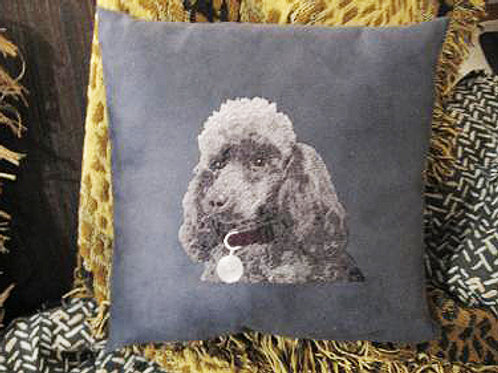 Photo Pillow (embroidered)