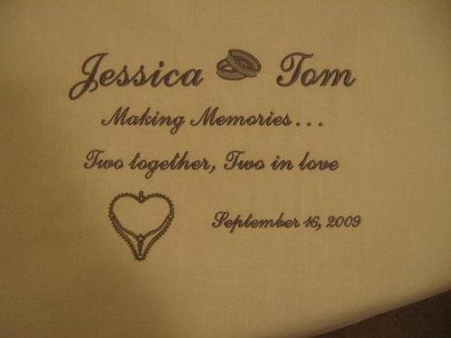 "Engagement/ Wedding Keepsake (8"" x 10"")"